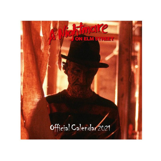 Calendario A NIGHTMARE ON ELM STREET 2021, NNM, Nightmare - Dal profondo della notte