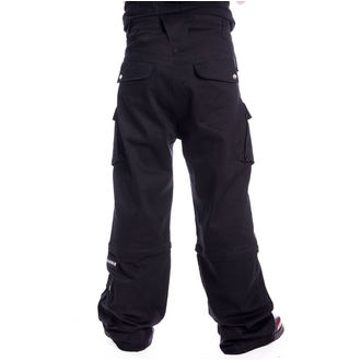 pantaloni CHEMICAL BLACK - NIXON - NERO, CHEMICAL BLACK