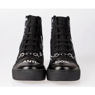 scarpe da ginnastica alte unisex - DISTURBIA, DISTURBIA