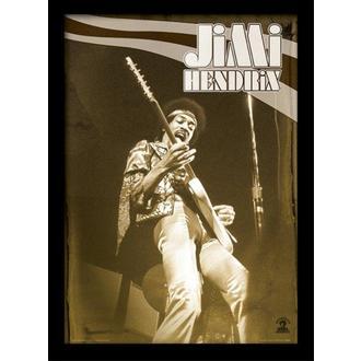 Poster incorniciato Jimi Hendrix - Live - PYRAMID POSTERS, PYRAMID POSTERS, Jimi Hendrix