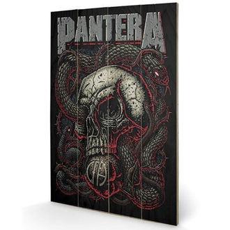 Pittura in legno Pantera - (&&string0&&) - PYRAMID POSTERS, PYRAMID POSTERS, Pantera