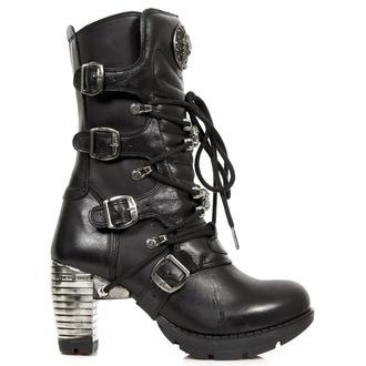 scarpe con il tacco donna - Itali, Nomada, Trail Negro Taco - NEW ROCK, NEW ROCK