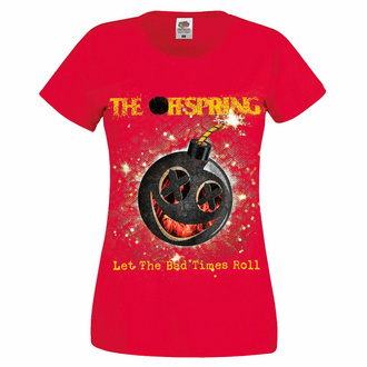 Maglietta da donna Offspring - Hot Sauce Bad Times - Rosso, NNM, Offspring
