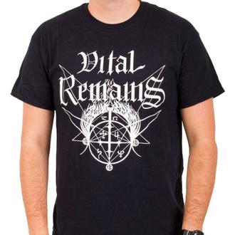 Maglietta da uomo Vital Remains - Old School - Nero - INDIEMERCH, INDIEMERCH, Vital Remains