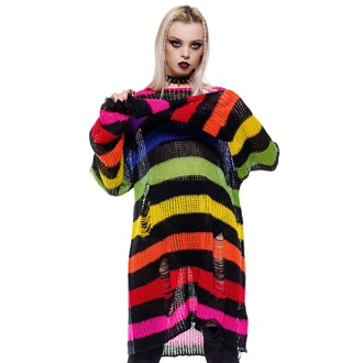 Maglione unisex KILLSTAR - Over The Rainbow, KILLSTAR