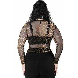 Maglietta da donna a maniche lunghe KILLSTAR - Overkill Fishnet - LEO, KILLSTAR