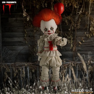 Statuetta IT - Living Dead Dolls - Pennywise, LIVING DEAD DOLLS
