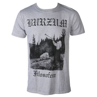t-shirt metal uomo Burzum - FILOSOFEM 3 2018 - PLASTIC HEAD, PLASTIC HEAD, Burzum