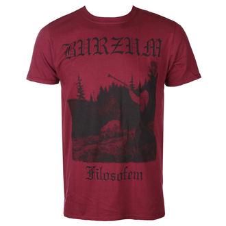 t-shirt metal uomo Burzum - FILOSOFEM 3 (MAROON) - PLASTIC HEAD, PLASTIC HEAD, Burzum