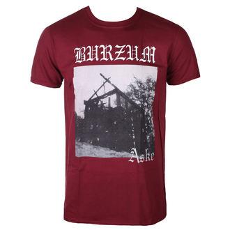 t-shirt metal uomo Burzum - ASKE (MAROON) - PLASTIC HEAD, PLASTIC HEAD, Burzum
