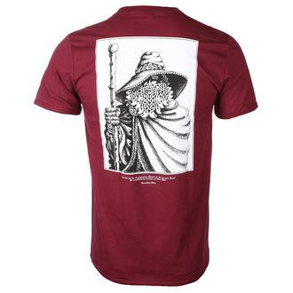 t-shirt metal uomo Burzum - RUNE (MAROON) - PLASTIC HEAD, PLASTIC HEAD, Burzum