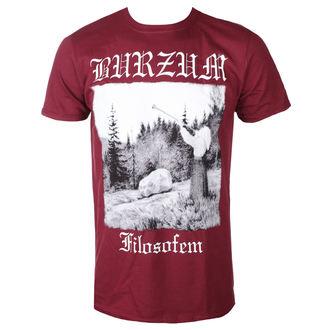 t-shirt metal uomo Burzum - FILOSOFEM 2018 (MAROON) - PLASTIC HEAD, PLASTIC HEAD, Burzum