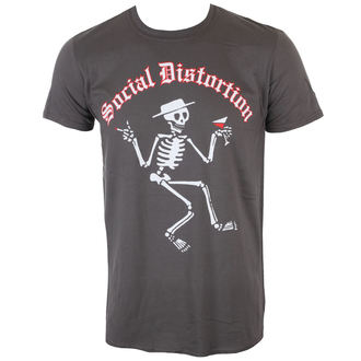 t-shirt metal uomo Social Distortion - SKELLY LOGO - PLASTIC HEAD, PLASTIC HEAD, Social Distortion