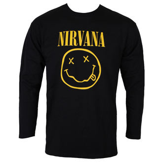 t-shirt metal uomo Nirvana - SMILEY LOGO - PLASTIC HEAD, PLASTIC HEAD, Nirvana