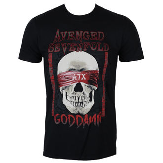 t-shirt metal uomo Avenged Sevenfold - GODDAMN - PLASTIC HEAD, PLASTIC HEAD, Avenged Sevenfold