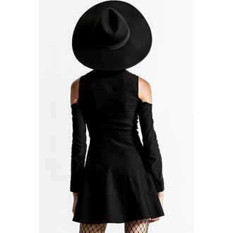 Maglietta da donna a maniche lunghe KILLSTAR - Play D Cad Turtleneck - Nero, KILLSTAR
