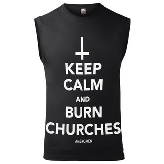canottaAMENOMEN - KEEP CALM AND BURN CHURCHES, AMENOMEN
