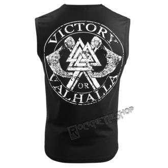 top Uomo VICTORY OR VALHALLA - VIKING SKULL, VICTORY OR VALHALLA