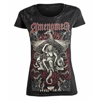 Maglietta da donna AMENOMEN - DEVIL IN ME, AMENOMEN