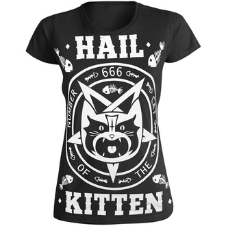 Maglietta da donna AMENOMEN - HAIL KITTEN, AMENOMEN