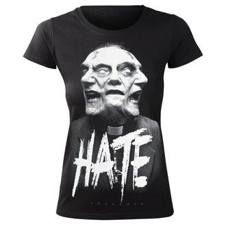 t-shirt hardcore donna - HATE - AMENOMEN, AMENOMEN