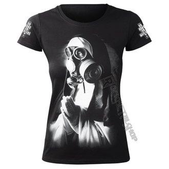 t-shirt hardcore donna - NUN IN GASMASK - AMENOMEN, AMENOMEN