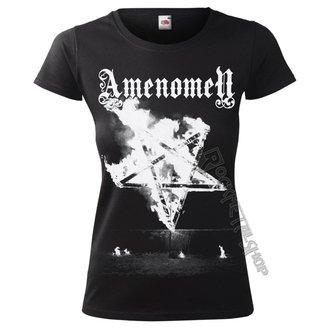 t-shirt hardcore donna - PENTAGRAM BURN - AMENOMEN, AMENOMEN