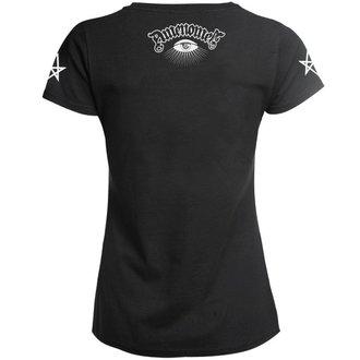 t-shirt hardcore donna - SATAN BLESS YOU - AMENOMEN, AMENOMEN