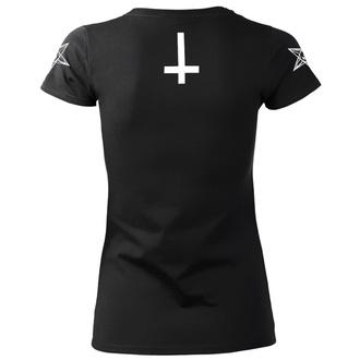 t-shirt hardcore donna - SATAN IS REAL - AMENOMEN, AMENOMEN