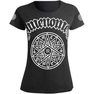 t-shirt hardcore donna - STAR - AMENOMEN, AMENOMEN