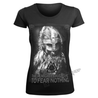 t-shirt donna - THE ALMIGHTY TAUGHT ME TO FEAR NOTHING - VICTORY OR VALHALLA, VICTORY OR VALHALLA