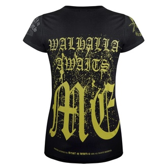 Maglietta da donna VICTORY OR VALHALLA - VALHALLA AWAITS, VICTORY OR VALHALLA