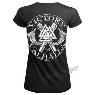 tričko dámské VICTORY OR VALHALLA - VIKING SKULL, VICTORY OR VALHALLA
