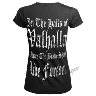 t-shirt donna - VIKING WARRIOR - VICTORY OR VALHALLA, VICTORY OR VALHALLA