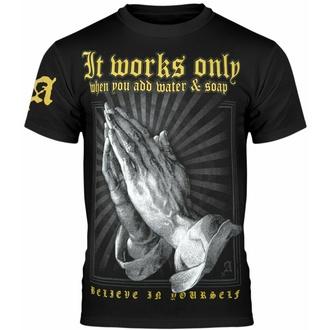 Maglietta da uomo AMENOMEN - IT WORKS ONLY..., AMENOMEN