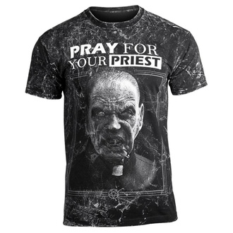 t-shirt hardcore uomo - PRAY FOR YOUR PRIEST - AMENOMEN, AMENOMEN