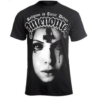 t-shirt hardcore uomo - RELIGION IS TOXIC DETOX - AMENOMEN, AMENOMEN