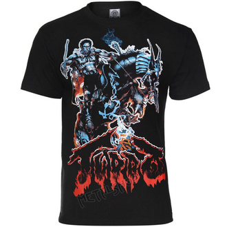 t-shirt metal uomo Turbo - LAST WARRIOR - CARTON, CARTON, Turbo