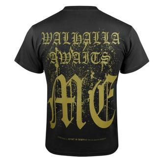 Maglietta da uomo VICTORY OR VALHALLA - CROW SKULL, VICTORY OR VALHALLA