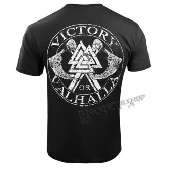t-shirt uomo - GODS AND RUNES - VICTORY OR VALHALLA, VICTORY OR VALHALLA