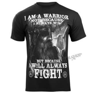 t-shirt uomo - I AM A WARRIOR - VICTORY OR VALHALLA, VICTORY OR VALHALLA