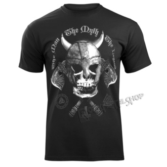 t-shirt uomo - THE MAN, THE MYTH, THE LEGEND - VICTORY OR VALHALLA, VICTORY OR VALHALLA