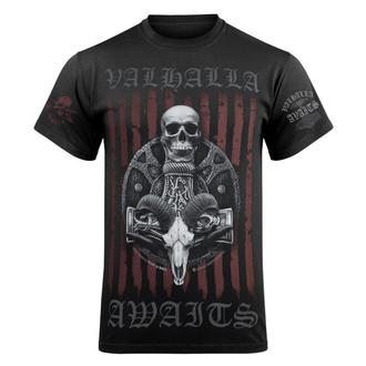 Maglietta da uomo VICTORY OR VALHALLA - VIKING SHIELD, VICTORY OR VALHALLA
