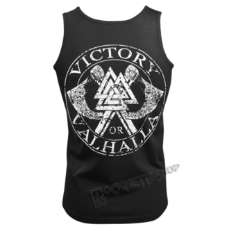 top Uomo VICTORY OR VALHALLA - VIKING SKULL, VICTORY OR VALHALLA