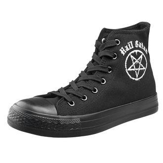 scarpe da ginnastica alte unisex - Hail Satan - AMENOMEN, AMENOMEN