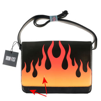 borsa  IRON FIST - Fire Sign - Nero - DANNEGGIATO, IRON FIST