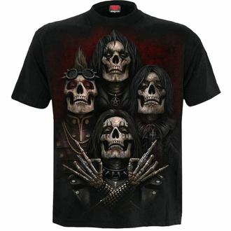 Maglietta da uomo Spiral - FACES OF GOTH - Nero, SPIRAL