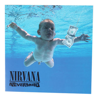 cartolina d'auguri Nirvana - ROCK OFF, ROCK OFF, Nirvana