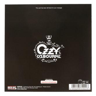 cartolina d'auguri Ozzy Osbourne - ROCK OFF, ROCK OFF, Ozzy Osbourne