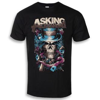 t-shirt metal uomo Asking Alexandria - Hat Skull - ROCK OFF, ROCK OFF, Asking Alexandria
